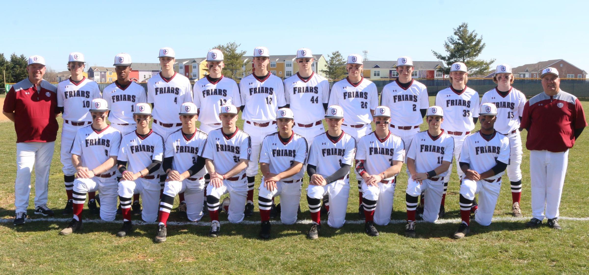 2020 Varsity Baseball Roster