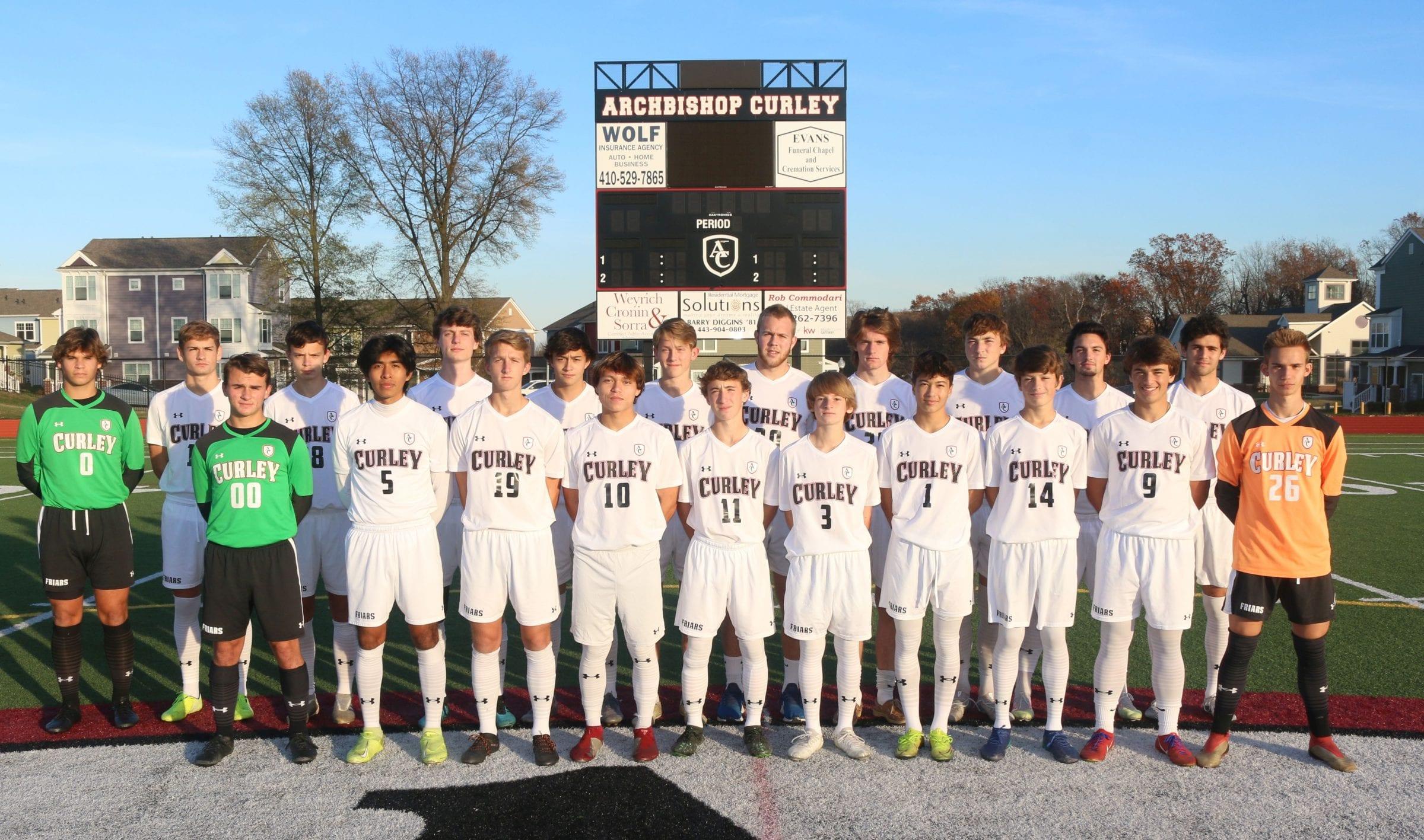 2020 Varsity Soccer Roster
