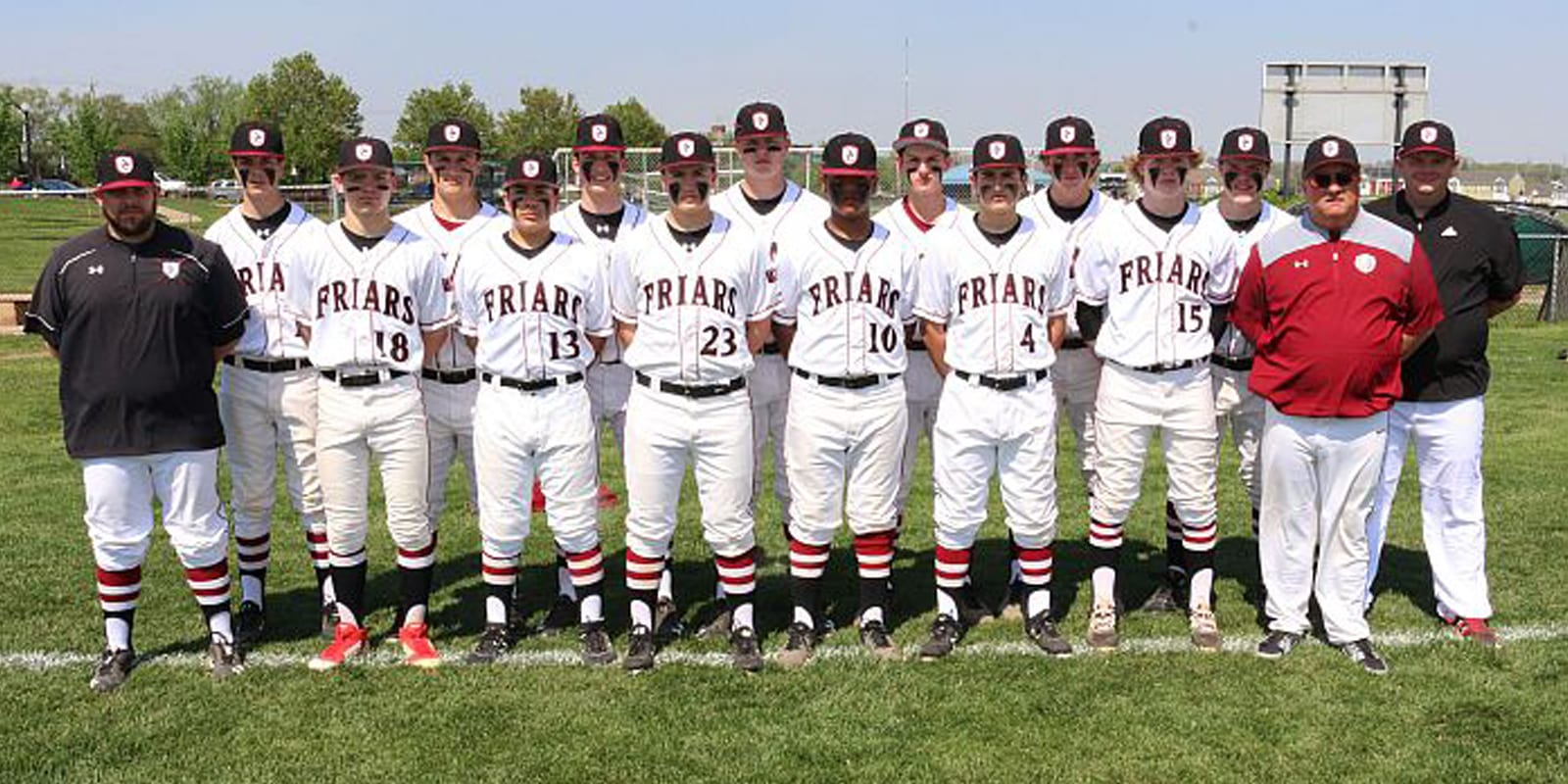 2019-20 Junior Varsity Baseball Roster