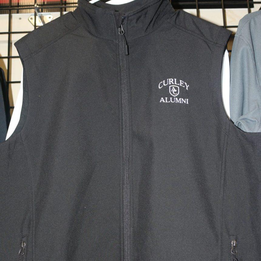 #110 Black Alumni Vest