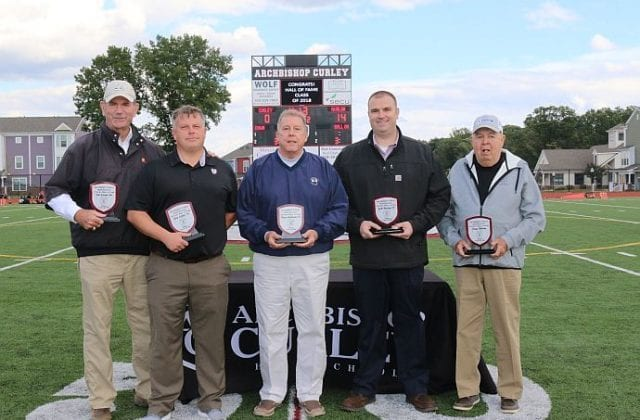 Fourth Class Inducted into the Archbishop Curley High School Athletic Hall of Fame