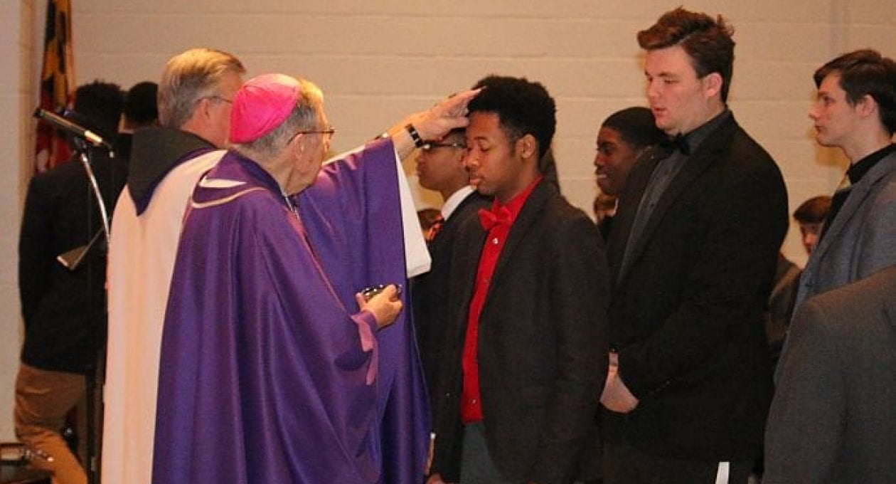 Curley Community Celebrates Ash Wednesday