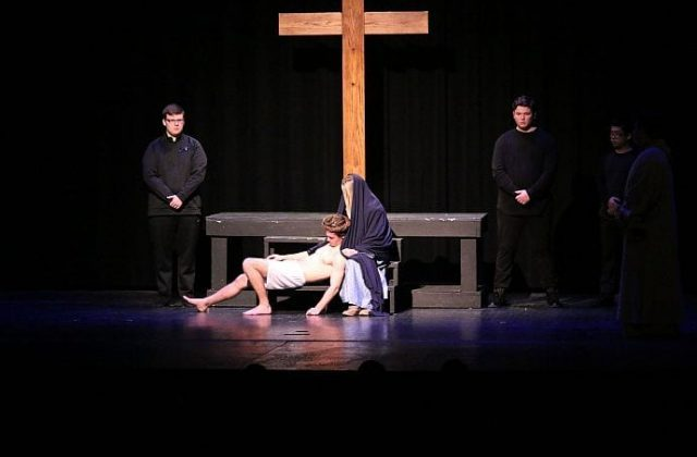 Senior Class Presents Live Stations of the Cross