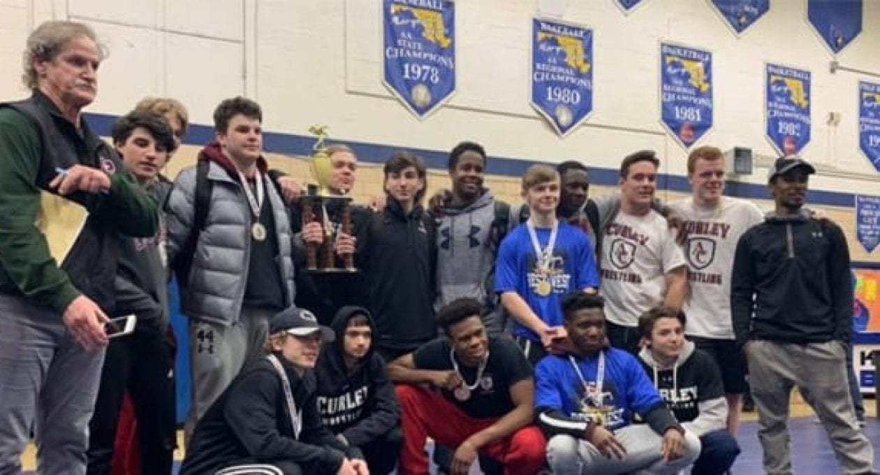 Curley Wrestling Wins Second Tournament in January