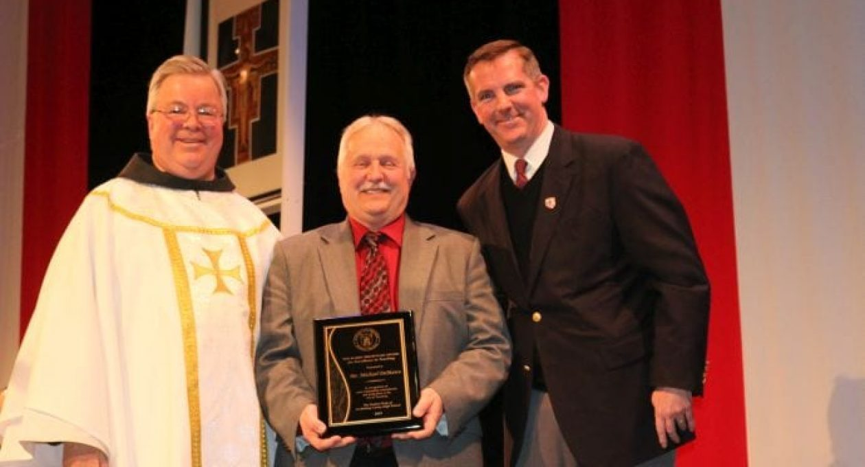 Mr. DeMarco Honored as Teacher of the Year