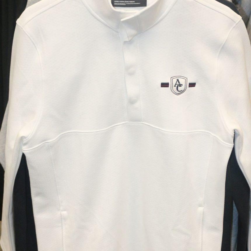 #202 UA Doubleknit Jacquard Half Snap Jacket