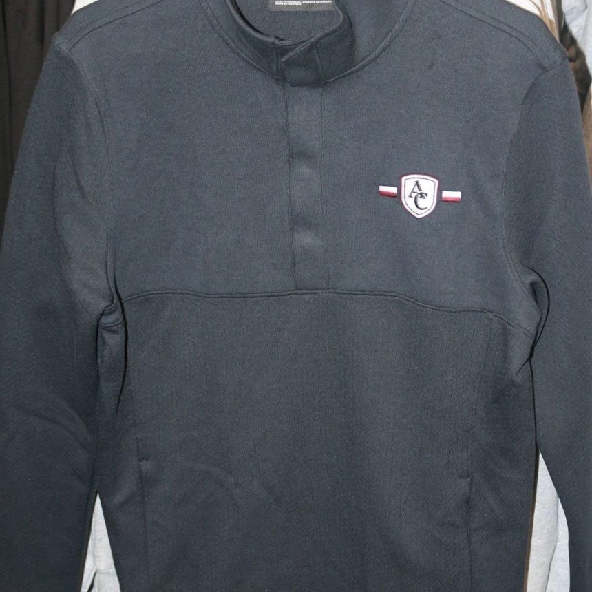 #203 UA Doubleknit Jacquard Half Snap Jacket
