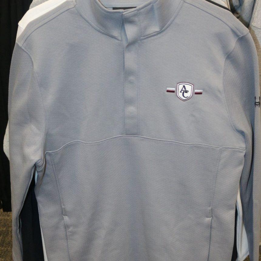 #204 UA Doubleknit Jacquard Half Snap Jacket