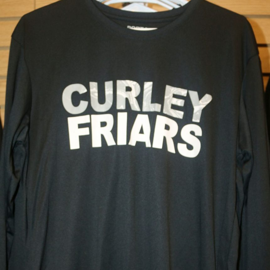 #314 Port Authority Black Long Sleeve T-Shirt