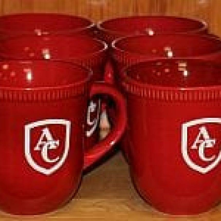 AC Coffee Mug – Red