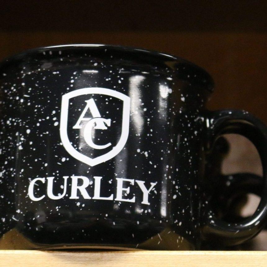 AC Coffee Mug Black Speckled