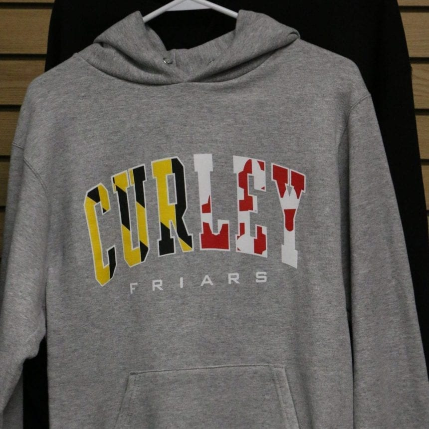 Champion Hoodie MD Flag Graphic