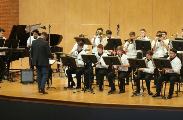 Curley's Instrumental Music Program Shares the Sounds of the Season