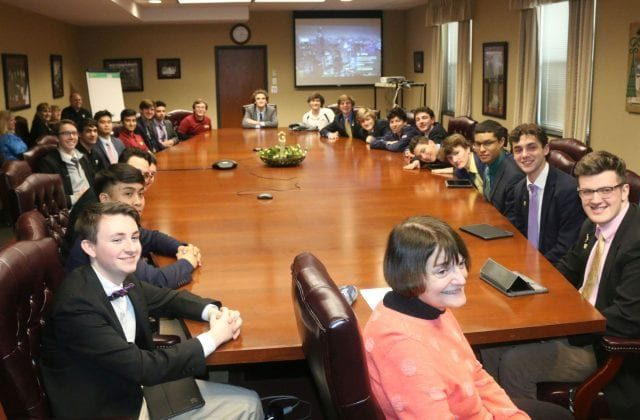 St. Bonaventure Scholars Present Capstone Projects