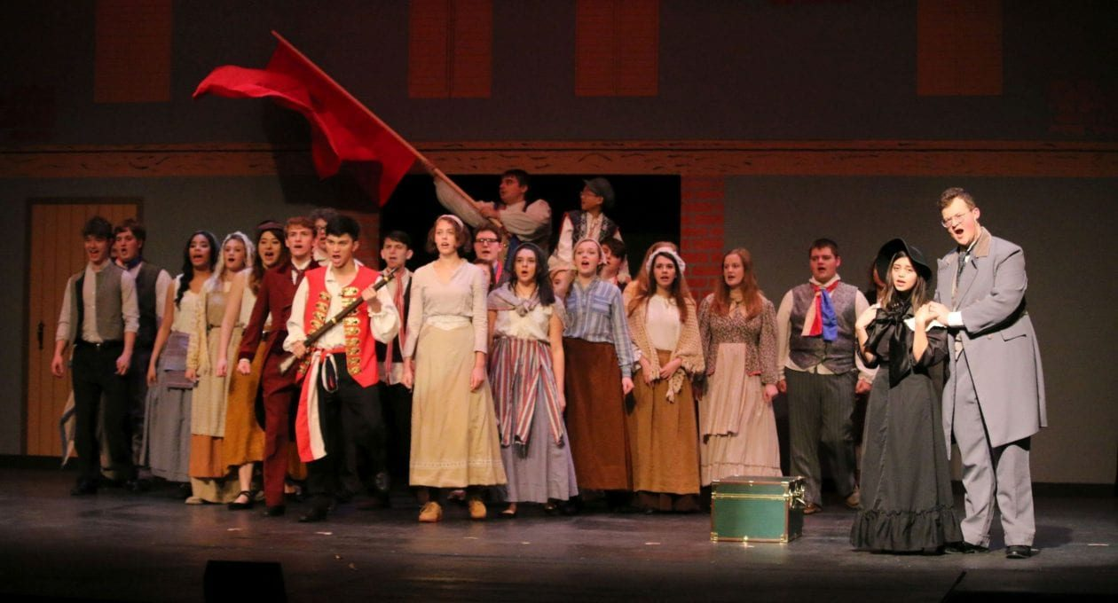 """Blackfriars' Theatre Presents """"Les Miserables"""""""