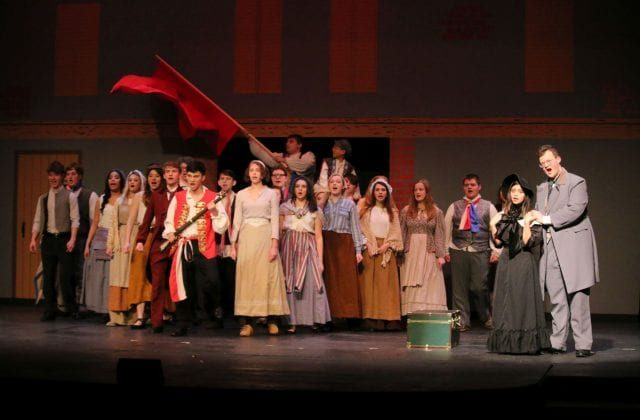 "Blackfriars' Theatre Presents ""Les Miserables"""