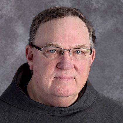 Br. Lawrence LaFlame OFM Conv. '72 B.A., M.A.