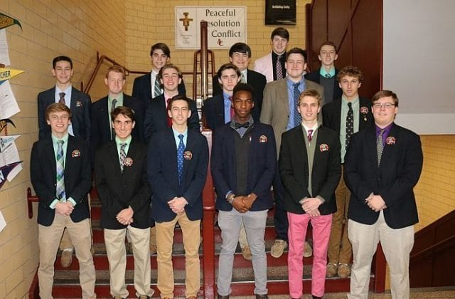 Students Inducted in Spanish Honor Society