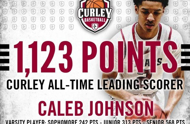 Curley Basketball Wins Championship; Johnson Is All-Time Leading Scorer