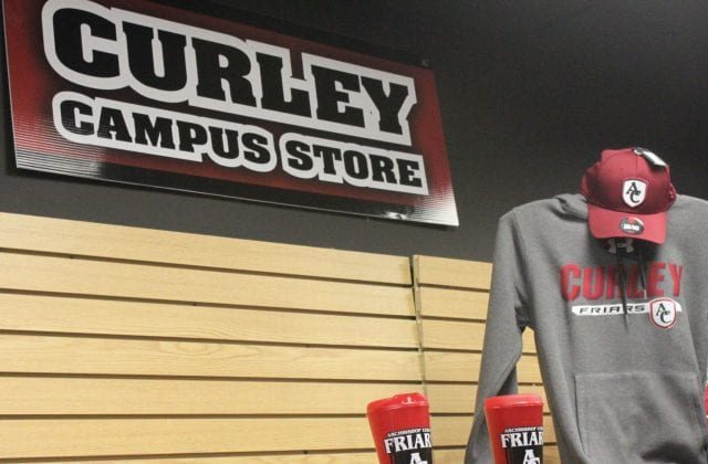 A MESSAGE FROM THE CURLEY CAMPUS STORE