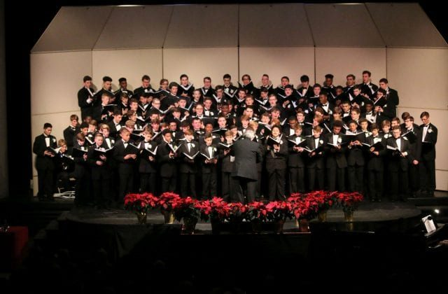 CHRISTMAS CHORAL CONCERT TONIGHT