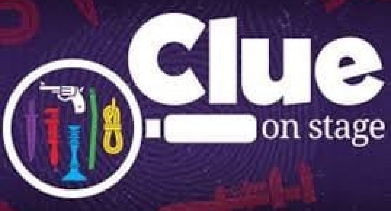 """Blackfriars' Theatre Presents """"Clue on Stage"""""""
