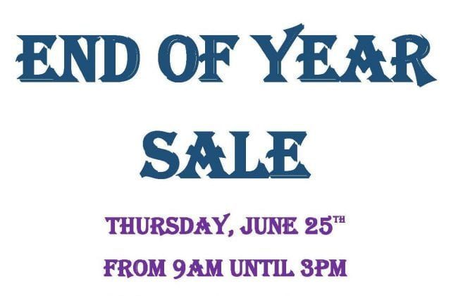 Campus Store – End of Year Sale