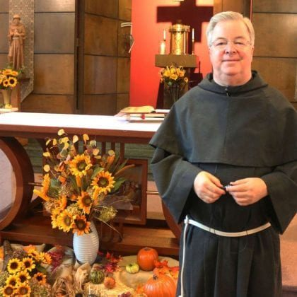 Fr. Donald's Thanksgiving Message