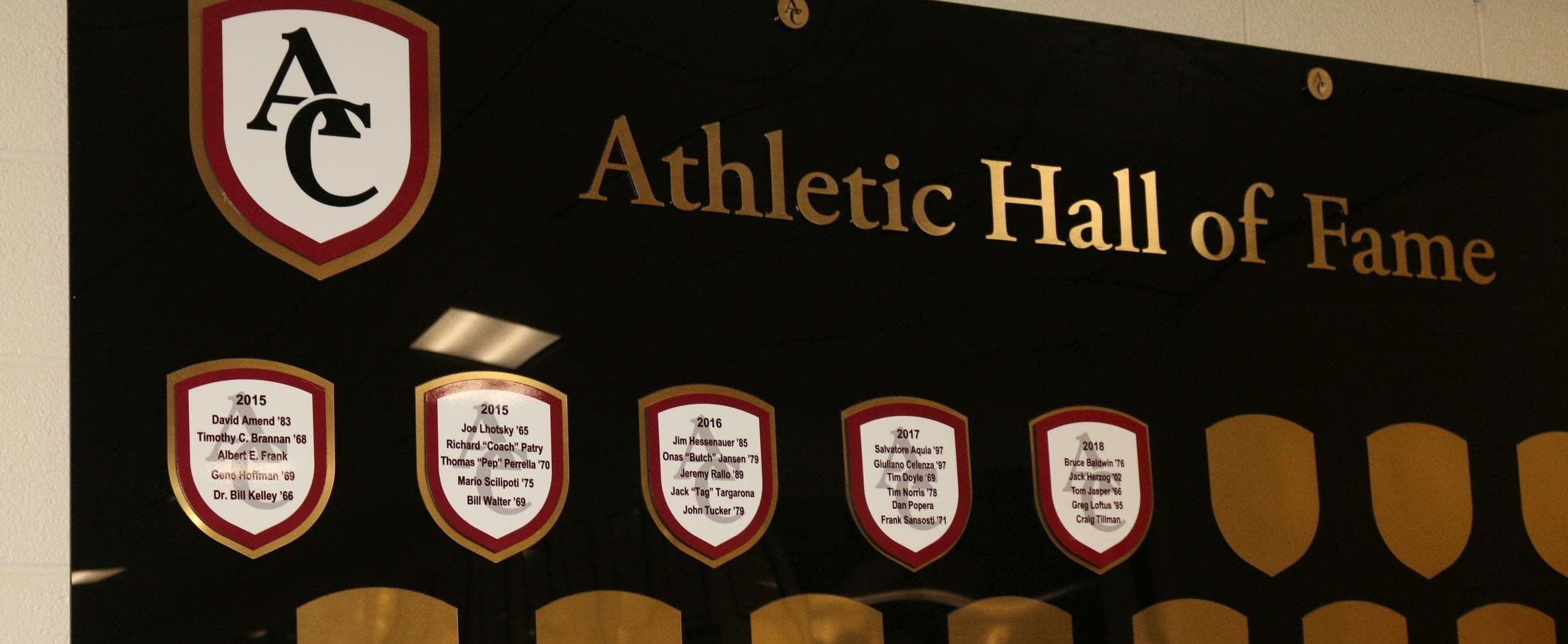 Athletic Hall of Fame