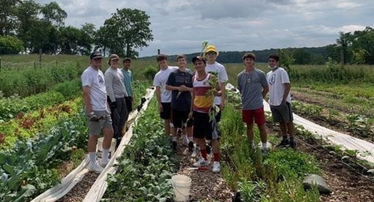 St. Bonaventure Scholars on the Farm