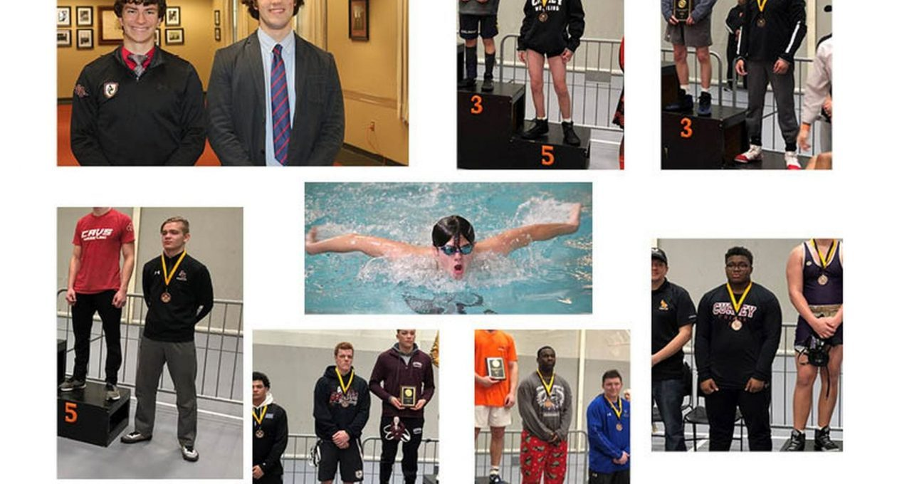 Notable Curley Results at Winter Sports Championships