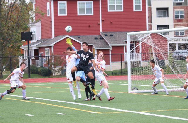 Varsity Soccer Defeats Calvert Hall 1-0; Advances to Championship