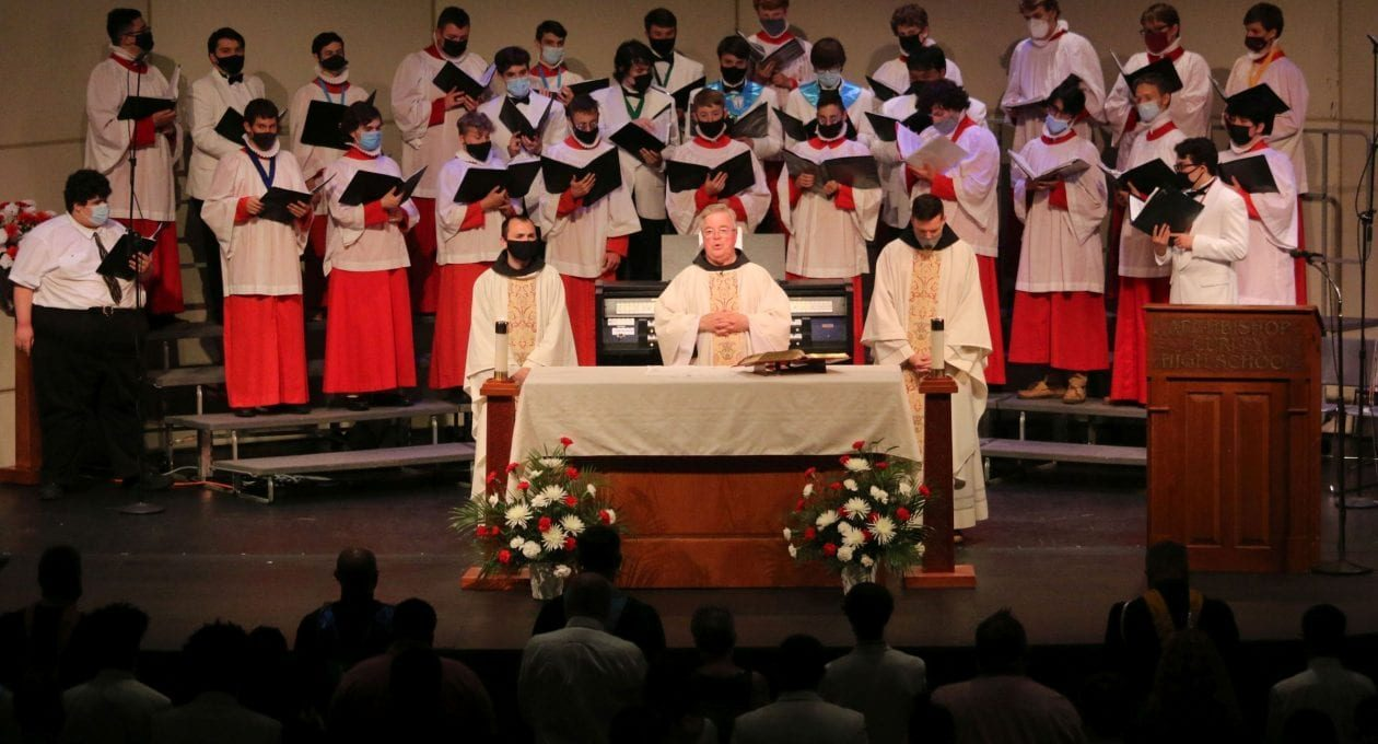 BACCALAUREATE MASS WITH THE CLASS OF 2021